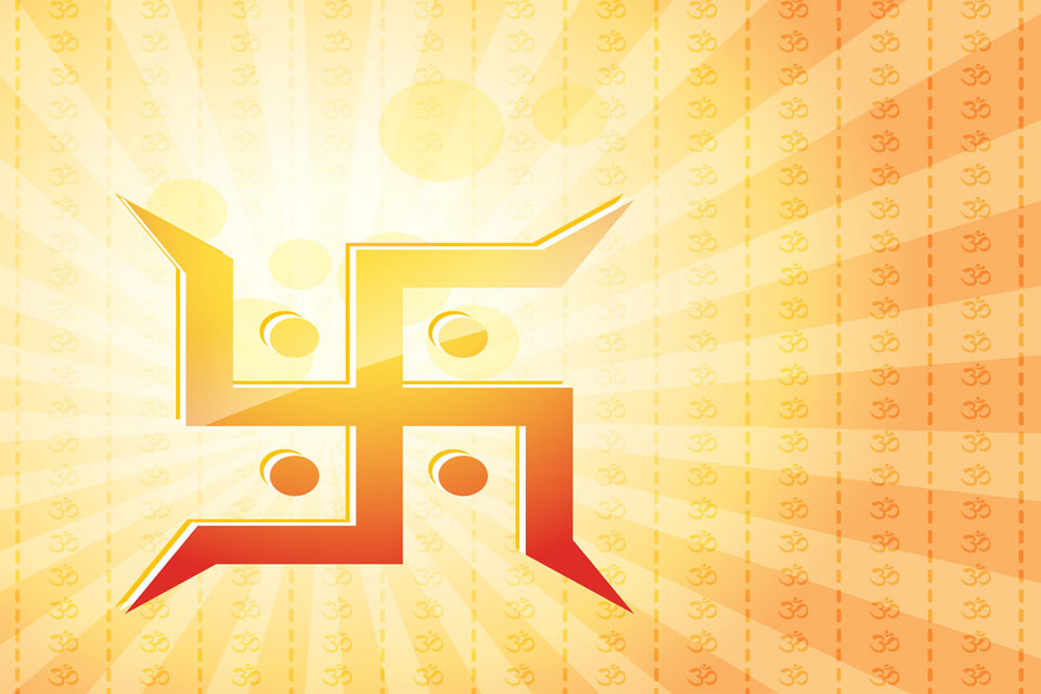 Swastik is Considered Sign of Purity and Auspice
